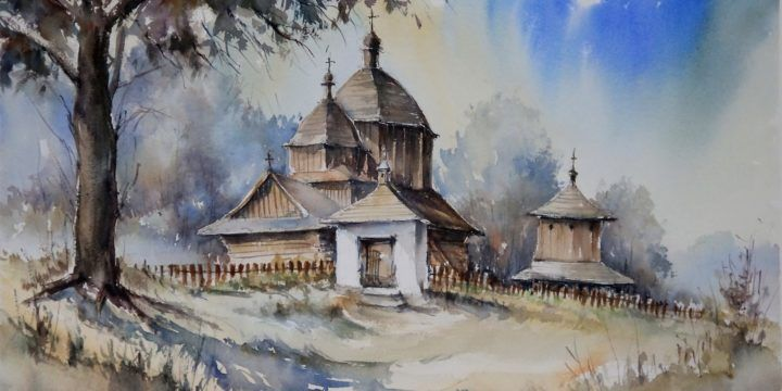 Cerkiew w Hrebennem