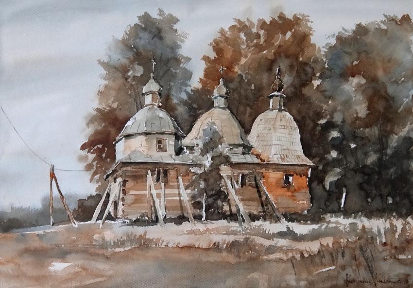 Cerkiew w Bruśnie Starym