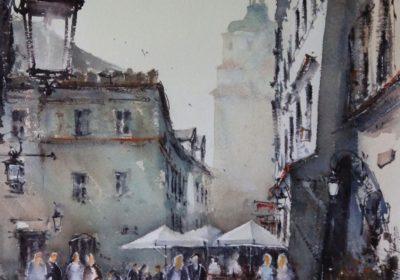Lublin. Grodzką w stronę Rynku